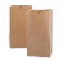 PAPER BAGS 4LB KRAFT 100/PACK