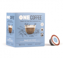 ONECOFFEE 1-SERVE PODS 18/BX DECAF COMPAT TO KCUP