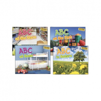 EVERYDAY ALPHABET BOOKS 4/SET 9781410947383 L4976-00