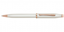 CENTURY II PEARLESCENT WHITE ROSE GOLD TONE APPOINT