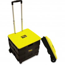 QUICK CART COLLAPSIBLE CART W/ TELESCOPING HANDLE 15x18x25