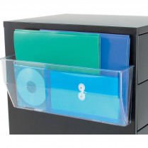 """FILE POCKET MAGNETIC 15"""" W CLEAR"""