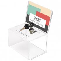 BALLOT/COIN BOX DEFLECTO WKEYS