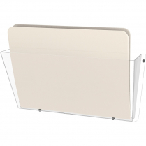 """WALL POCKET LETTER 14.5"""" W CLEAR"""