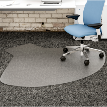 CHAIRMAT L WORKSTATION 66x60
