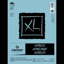CANSON XL OIL & ACRYLIC PAD 9x12 24SH
