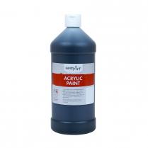 ACRYLIC PAINT DERIVAN 32OZ BLACK
