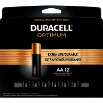 OPTIMUM BATTERIES AA 12/PKG DURACELL 41333032726