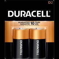 BATTERY DURACELL D 2/PACK MN1300B2Z 41333213019 5001571