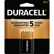 BATTERY DURACELL 9V 1/PACK 41333116013 5002335