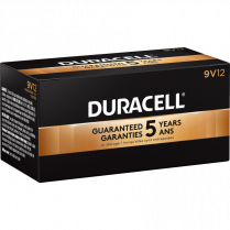 BATTERIES DURACELL 9V 12/BOX