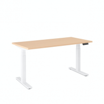 HERMAN MILLER MOTIA SIT-TO-STAND TABLE MAPLE