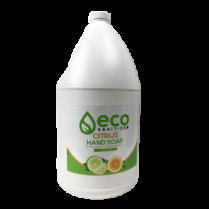 ECO CITRUS HAND SOAP 4L BOTTLE PLANT-BASED
