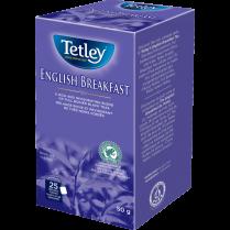 ENGLISH BREAKFAST TEA 25/BOX TETLEY TEA 15TE130-ENGBRKFS25C