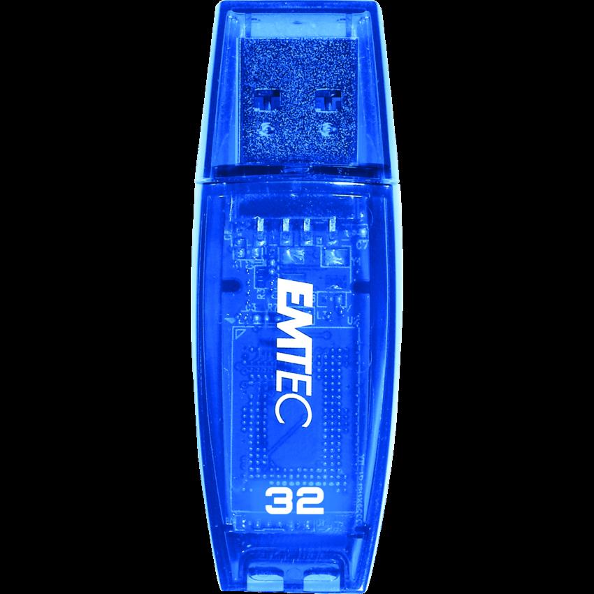 EMTEC COLOR MIX USB 32GB BLUE C410 USB 2.0 FLASH DRIVE