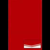 "FOAM BOARD 20x30x3/16"" RED"