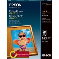 PHOTO PAPER EPSON LETTER 89B 20/PACK GLOSSY