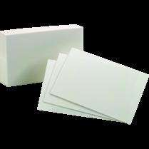INDEX CARDS PLAIN 4x6 WHITE