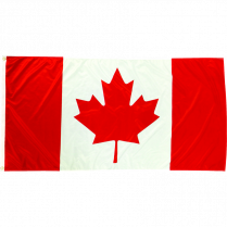 CANADIAN FLAG 54x27 POLYESTER 5034005427 INDOOR/OUTDOOR