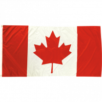 CANADIAN FLAG 72x36 POLYESTER 5034007236 INDOOR/OUTDOOR