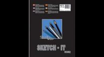 SKETCH-IT COIL BOOK 11x14 00242 R1114-040