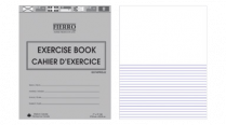 EXERCISE BOOK 1/2 PLAIN RULED FIERRO / NAPP 7x9 72P