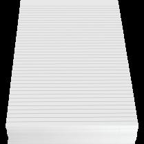 FOOLSCAP 8x13 RULED 960PK 1-SIDE W/MARGIN