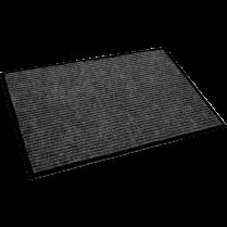 """ECOTEX RIB/SCRAPER MAT 36x60"""" CHARCOAL FLOORTEX"""