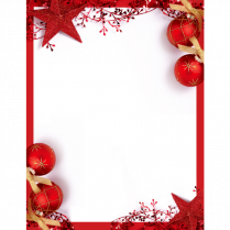 XMAS PAPER RED ACCENTS 25/PK