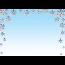 XMAS PAPER SNOWFLAKES 25/PK