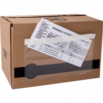 PACKING SLIP ENVELOPES 100/PKG FULL WINDOW 5-1/2x10