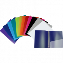 "GEO FLEXIBLE BINDERS 1"" 24/BOX ASSORTED COLOURS"
