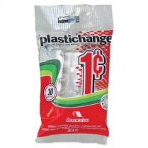 PLASTICHANGE PENNY 10/PACK *****Clearance*****