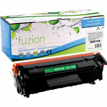 TONER CART FUZION 12A BLACK ALTERNATIVE TO HP Q2612A