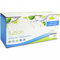TONER CART FUZION 55A BLACK ALTERNATIVE TO HP CE255A 6K