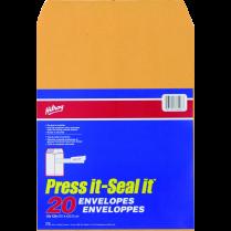 ENVELOPE PRESS IT-SEAL IT 10x13 20P