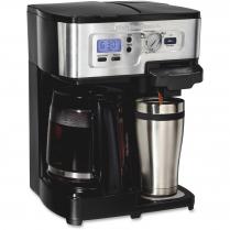 DUAL BREW COFFEE SYSTEM 12CUP HAMILTON BEACH