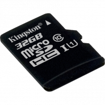 MICROSDHC CARD w ADAPTER 32GB CLASS10 KINGSTON CANVAS SELECT