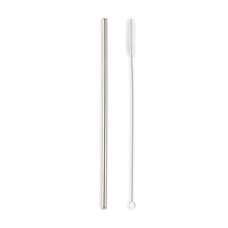 STAINLESS STEEL STRAWS 10/PK