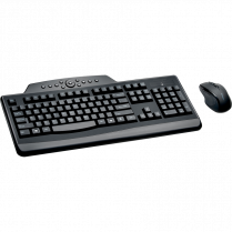 KEYBOARD/MOUSE COMBO PRO FIT WIRELESS KENSINGTON MEDIA