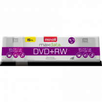 DVD RW MAXELL 2X 4.7GB 15/PACK SPINDLE