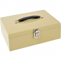 CASH BOX WITH LOCK LATCH