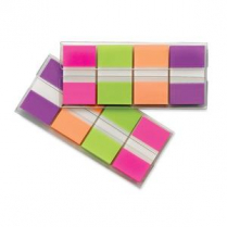 "POST IT 1"" FLAGS PACK GREEN OE PE 40 OF EACH COLOUR"