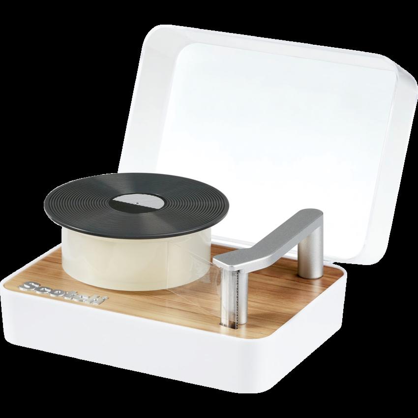 Tape Dispenser Record Player