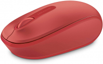 MOBILE MOUSE 1850 FLAME RED MICROSOFT WIRELESS USB 2.0