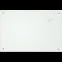 MAGNETIC GLASS BOARD 18X24 WHITE QUARTET INFINITY