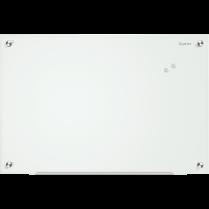 MAGNETIC GLASS BOARD 36x48 WHITE QUARTET INFINITY
