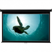 "WIDE PROJECTION SCREEN 45""X80"""