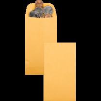 COIN ENVELOPE 2-7/8x5-1/4 KRAFT 500B 28# BROWN