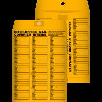 ENVELOPE INTERDEPARTMENTAL 10x13 100/BOX REDI-TAC GOLDEN
